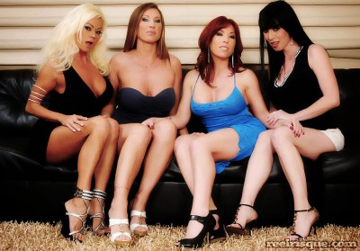 Devon Lee, Rayveness, Brittany O'Connell, Nikita